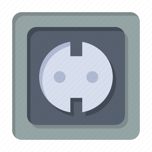 Electrical, energy, plug, power, socket, supply icon - Download on Iconfinder