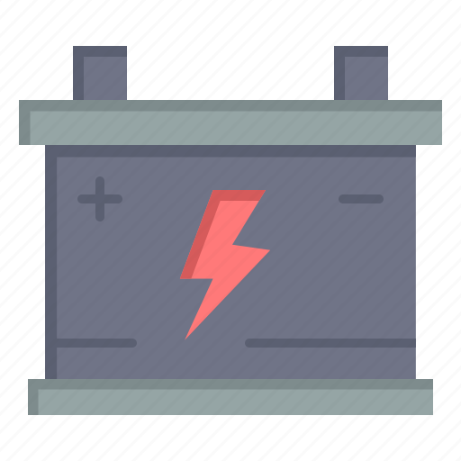 Acumulator, battery, car, power icon - Download on Iconfinder