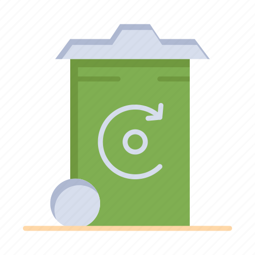 Bin, energy, recycilben, recycling icon - Download on Iconfinder