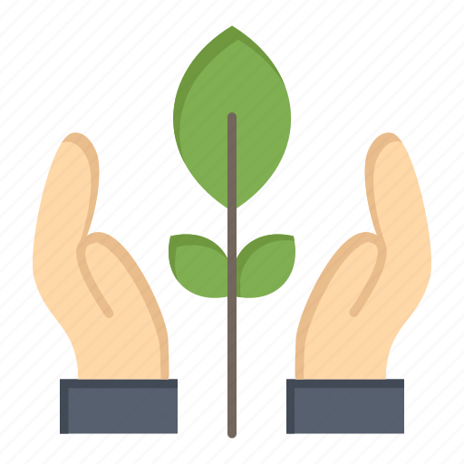 Conservation, energy, hand, plant icon - Download on Iconfinder