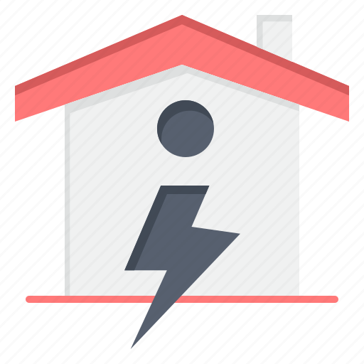 enrgy, home, house, power icon