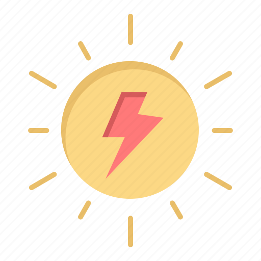 Charg, energy, solar, sun icon - Download on Iconfinder