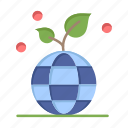 eco, friendly, globe, growth