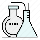 chemicals, energy, lab, reaction icon