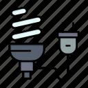 bulb, economic, eletrical, energy, light, plug