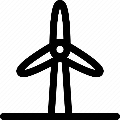 electricity, energy, power, renewable, wind icon