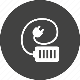 battery, cable, cell, charger, plug, power, wire icon