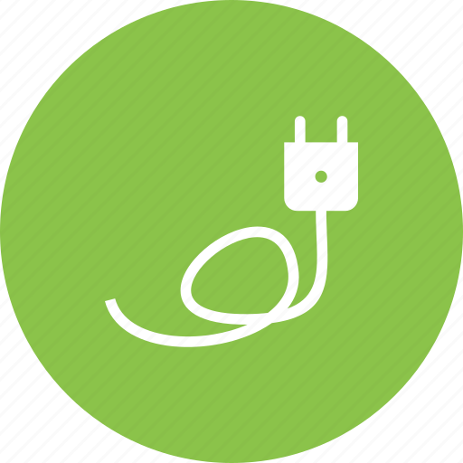 adaptor, cable, charger, electricity, energy, plug, wire icon