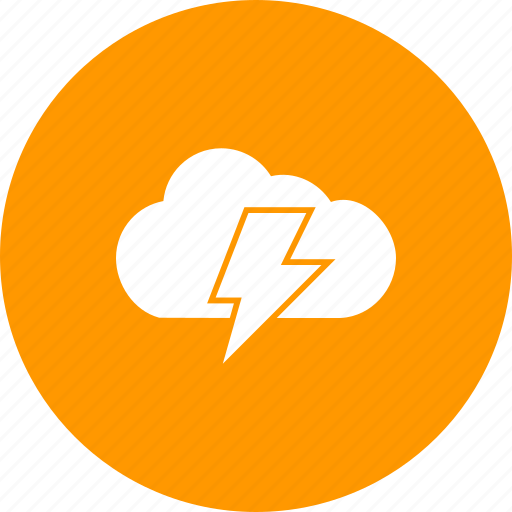 bolt, cloud, electric, electricty, energy, lightning, thunder icon