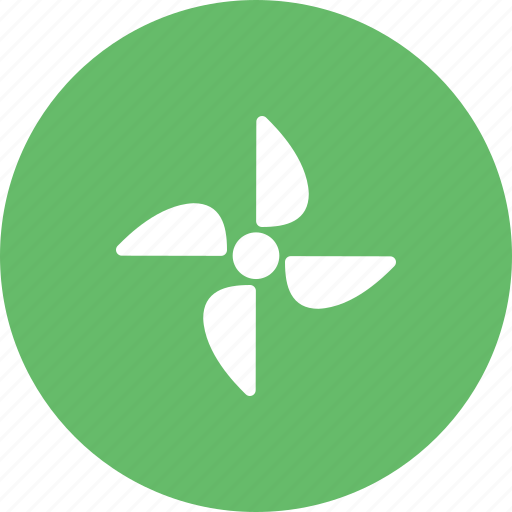 electricity, energy, environmental, power, turbine, wind, windmill icon