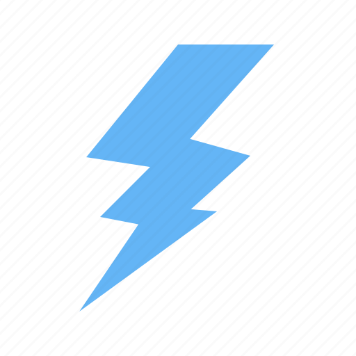 electric, energy, lightning, power, thunder, thunderstorm, weather icon