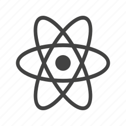 atom, atomic model, molecule, nucleus, particle, physics, science icon