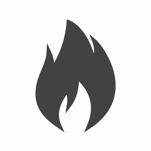 Flammable, temperature, fire, energy, hot, heat, flame icon