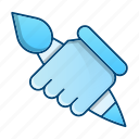 creative, design, engineering, pencil, tool icon