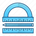 engineering, equipment, measurement, tools icon