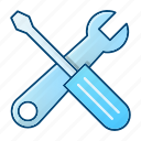 engineering, preferences, settings, tools, wrench icon