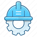 construction, engineering, industry, protection, tool icon