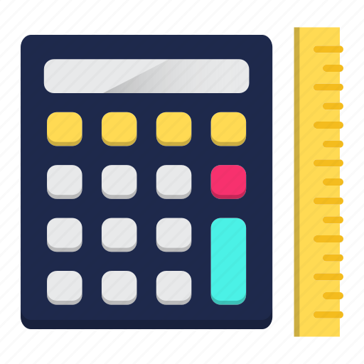 Accounting, calculation, digital calculator, engineering, math, school icon - Download on Iconfinder