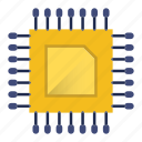 appliances, chip, computer, cpu, electronics, hardware, technology icon