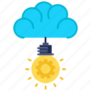 creativity, engineering, idea, innovation, lightbulb icon