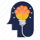 brain, creative, design, engineering, idea, thinking icon