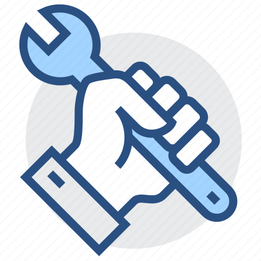 engineering, fix, hand, repair, service, tools icon