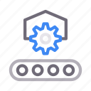 belt, conveyor, gear, machine, setting icon