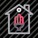 building, electricity, energysaver, home, house