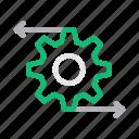 cogwheel, configure, gear, preference, setting icon