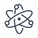 atom, science, research, physics, energy icon
