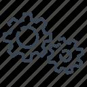 engineering, engineer, gear, cog, industry, mechanics