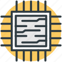 integrated circuit, memory chip, processor chip, computer chip, microprocessor
