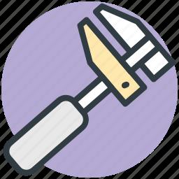construction, engineering tool, gauge, technical instrument, vernier caliper icon