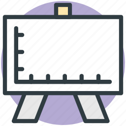 canvas, drafting, drawing, easel, graph icon