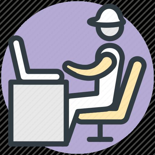 computer engineering, computing, programmer, software engineer, web developer, workstation icon