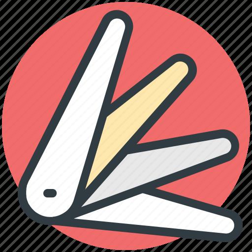 box cutter, knife, multi tool, multipurpose knife, utility knife icon