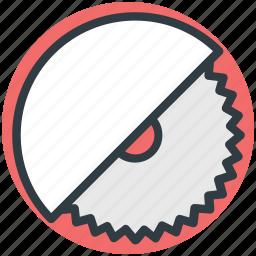 carpentry, circular saw, industrial saw, saw blade, sharp icon