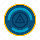 energy, geodesy, geodetic, station icon