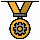 award, champion, engineering, medal, winner icon
