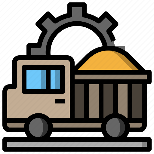 Automobile, dump, transport, transportation, truck, vehicle icon - Download on Iconfinder