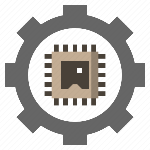 chip, chips, electronic, electronics, processing, processor, ram icon