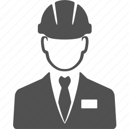 avatar, engineer, man, manager, people, user, worker icon