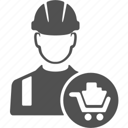 avatar, build, builder, buy, engineer, user, worker icon