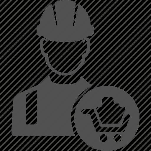 avatar, build, builder, buy, engineer, user, worker icon