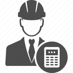 avatar, business, calculator, cash, engineer, manager, user icon