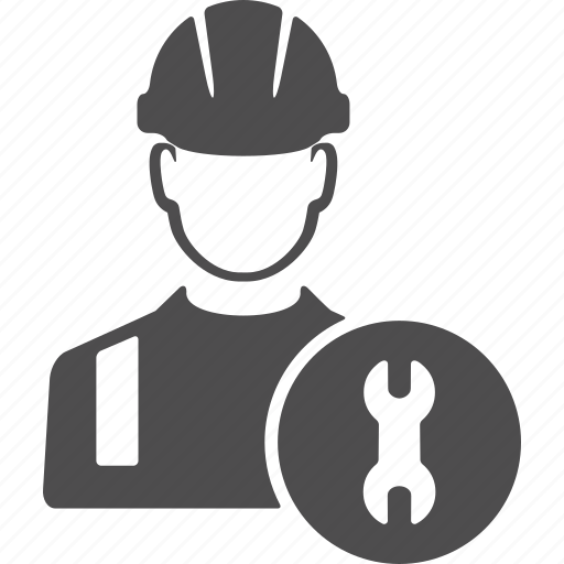 avatar, engineer, gear, options, repair, worker, wrench icon