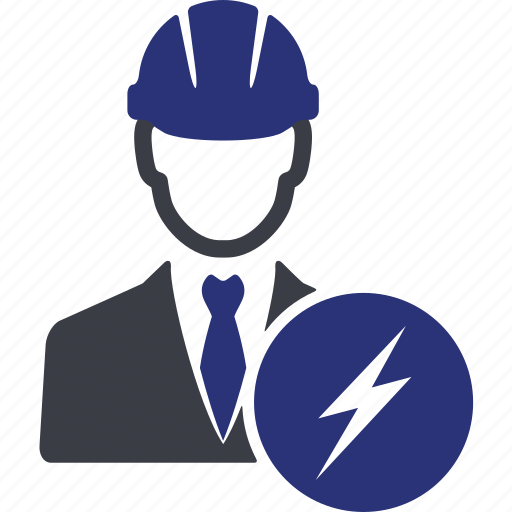 avatar, broken, damaged, danger, engineer, manager, user icon