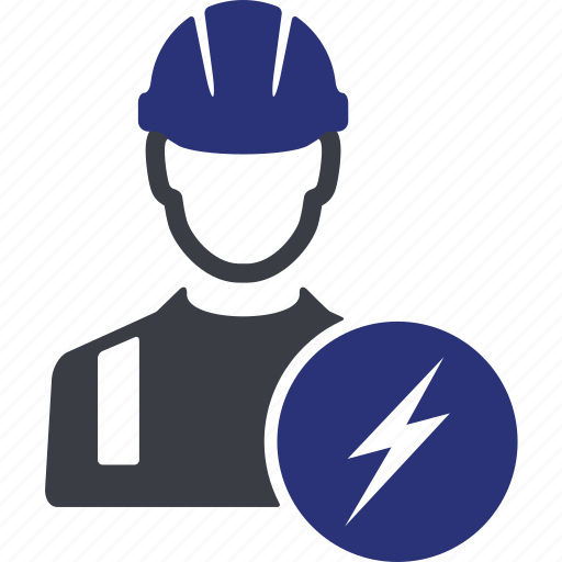 avatar, electric, electricity, engineer, people, user, worker icon