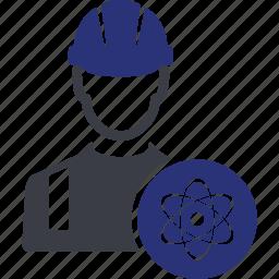 atom, automic, avatar, energy, nuclear, physics, science icon