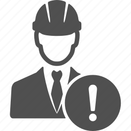account, alert, avatar, business, caution, manager, people icon
